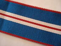 Queens Golden Jubilee Medal Ribbon, Full Size, Army, British, Military, 1 metre