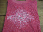 Womans Size Large Pink Sturgis 2009 Rally Shirt