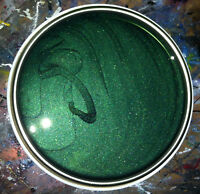 1lt Electric Dark Green Pearl Car Motorcycle Basecoat READY FOR USE Pre Thinned