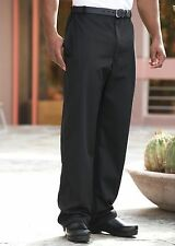 Executive chef pant, black, sizes from XS to 6XL, 4020