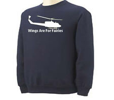 Helicopter Wings For Fairies Copter Transportation  Adult Sweatshirt