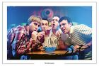 THE INBETWEENERS SIGNED AUTOGRAPH PHOTO PRINT