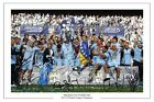 MANCHESTER CITY SQUAD SIGNED 2011/2012 PREMIER LEAGUE CHAMPIONS PRINT