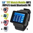 """Unlocked i1 1.8"""" LCD Touch Screen Smart Cell Phone Watch GSM MP3/4 Bluetooth FM"""