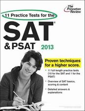 11 Practice Tests for the SAT and PSAT, 2013 Edition by Princeton Review...