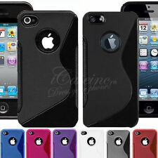 COQUE CASE ★ S-LINE SILICONE GEL ★ SMARTPHONE APPLE IPHONE ★ 7 COULEURS ★