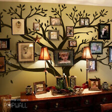 Big Family Photo Tree Wall Decal for Modern Home Original Family Wall Sticker
