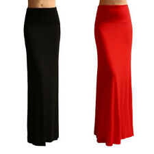 2014 Fashion Womens Mermaid Sexy Slim Maxi Long Elastic Waist Jersey Skirt Dress