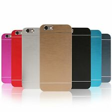 Apple iPhone 4/5/6/6 Plus Metall Alu Aluminium Cover Schutzhülle Hülle Case Slim