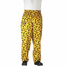 Chefwear 3500-21 Ultimate Chef Pant Lemons all sizes XS-2XL NEW!