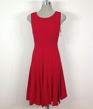 Calvin Klein NEW red dress flare bottom sexy summer dress