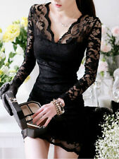 2014 New hot sale Style Fashion Black Lace Ladies Sexy dress For Women