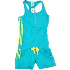 Adidas JUMPSUIT Damen Fitness Overal Jogginganzug Tank Top Shorts Trainingsanzug