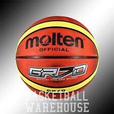 Molten GR Series Outdoor Rubber Basketballs - FREE SHIPPING