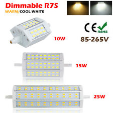Dimmable R7S 10W 15W 25W 5730 5050 SMD LED Light Lámpara Bombillas 78mm 118mm