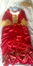 Disney Belle Beauty and the Beast fancy dress costume christmas 4 5 6 7 8 9 new