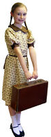 WW2- Girls 1940's Wartime FLORAL DRESS-all ages