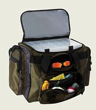 Okeechobee Fats Deluxe Large Green Fishing Tackle Bag Heavy Duty Utility Boxes