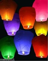 1pcs Chinese KongMing Sky Fire Lanterns Hot 9 Color For Party Wedding Birthday