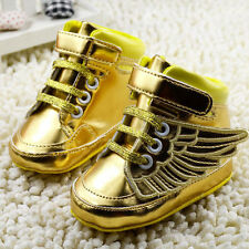 Infant Toddler Baby Boy Wing Crib Shoes Baby Shoes Size Newborn to18 Months