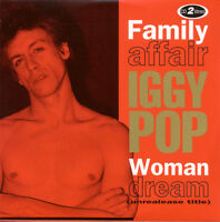 IGGY POP 'Family Affair' + Sex Pistols' Steve Jones punk rock CD-single sealed