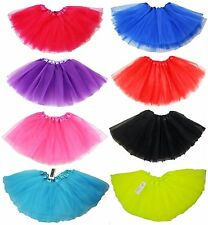 Girls Kids 3 Layer Tutu Dancewear Wedding Party Top Quality Mini Skirt