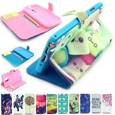 """Cute Paint Magnetic Flip Wallet Case Cover For Apple iPhone 4S 5S 5C 6 4.7"""" inch"""