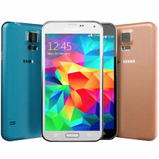 Samsung Galaxy S5 SM-G900V 16GB GSM Unlocked Verizon Black White Gold Blue