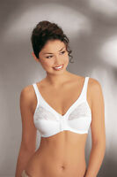 NEW Front Fastening Bra by Naturana WHITE  34 36 38 40 42 44 B C D DD B85943A
