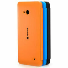 Official Microsoft Nokia Lumia 640 Flip Shell Case CC-3089 Orange/Black/Cyan