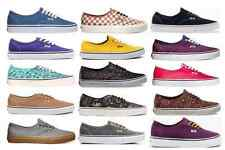 VANS AUTHENTIC MENS / WOMENS SHOES CASUAL SKATEBOARD SNEAKERS SPORTS AUSTRALIA
