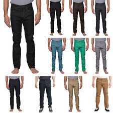 Victorious Mens Skinny Fit Unwashed Raw Denim Jeans DL938 - FREE SHIP