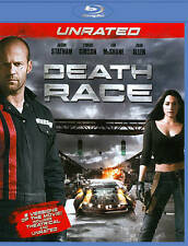 Death Race (Blu-ray Disc, 2011) Unrated Jason Statham FREE SHIPPING