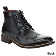 FERRO ALDO MFA-806278 Men's Lace Up Wing Tip Breathable Brogue Ankle Bootie
