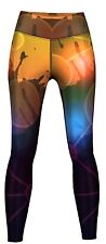Leggings Desert molto elastico per lo sport, yoga, training & Fashion Multicolore