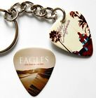 The EAGLES Two Sided Guitar Pick Keyring +Matching Pick