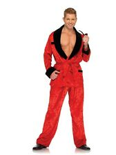 Men's Delux Ultimate Bachelor Costume, Leg Avenue, Playboy, Hugh Hefner, Pj's