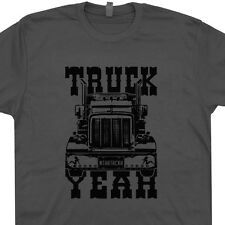 Truck Yeah T Shirt Mother Trucker Hat T Shirt Mack Rockabilly Ford Chevy T Shirt