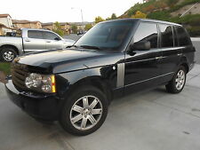 Land Rover : Range Rover 2006 Land Rover Range Rover HSE Loaded 4.4 AWD