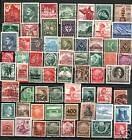 150 DIFF OLD GERMAN STAMPS USED & MINT 1880's-1980's! Lotsa NAZI! A TON of FUN!!