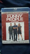 Funny People (Blu-ray, 2009, 2-Disc Set, Rated/Unrated, FRENCH INCLUDED)