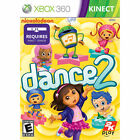 Nickelodeon Dance 2 (Microsoft Xbox 360, 2012) NEW FACTORY SEALED