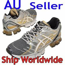 ASICS GEL KINSEI 4 MENS silver-gold / Limited Stock Left / Running Shoes us 7~12