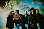 """THE CROSS ~ POWER TO LOVE ~ VERY RARE ROGER TAYLOR HAND SIGNED UK 12"""" ~ QUEEN"""