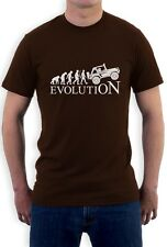 Gift for Jeeps Lovers - EVOLUTION 4x4 Cool T-Shirt Off Road Apparel