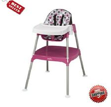Evenflo Convertible Baby- Toddler High Chair Booster Feeding seat & Eating Table
