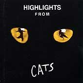 CATS - Highlights From Cats [1989 Cast Recording] {CD Album} Very Good