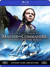 MASTER and COMMANDER: The FAR SIDE of the WORLD Russell Crowe- Brand NEW Blu-ray