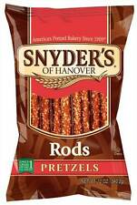 Snyders Of Hanover Pretzel Rod, 12 Ounce -- 12 per case.