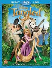 Tangled (Blu-ray/DVD, 2011, 2-Disc Set) NEW w/ Slipcover  Disney